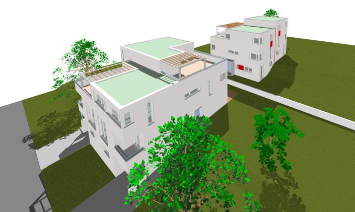 4 Doppelhaushälften Brasselsberg