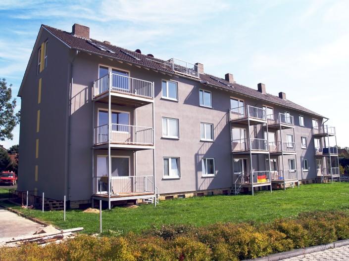 Berliner Strasse Sanierung 12 Wohnungen im Bestand mit Dachwohnungen Baunatal