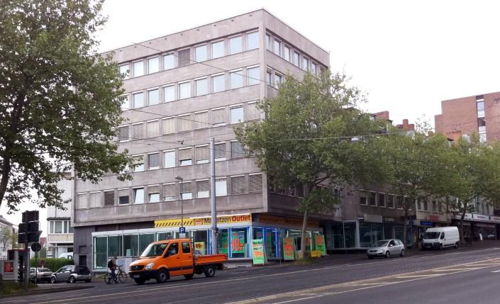 Fünffensterstrasse 4 Sanierung Bürogebäude Innenstadt