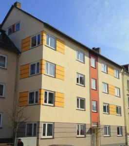 Heckerstrasse Sanierung 8 Wohnungen mit Fassade Auefeld