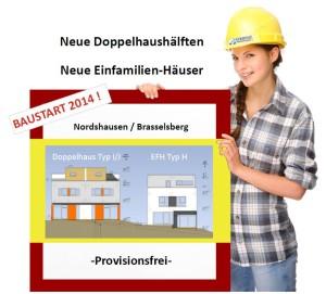 IVS_Neubauobjekt Wegelaenge Bauschild