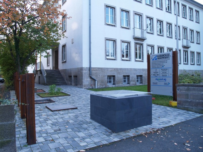 Kölnische Strasse 69 Sanierung und Umbau Bürogebäude Vorderer Westen