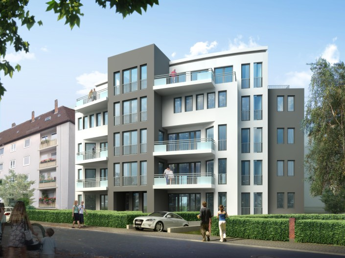 7 Eigentumswohnungen Menzelstrasse an der Karlsaue