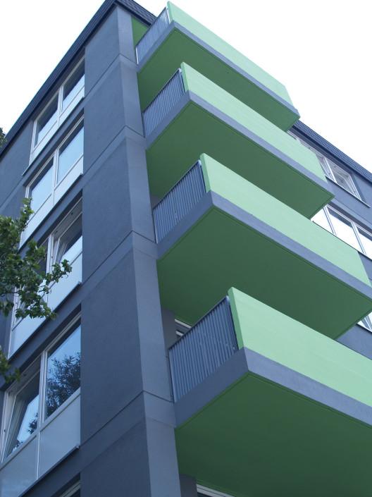 Sickingenstrasse Sanierung Studentenwohnheim nachher