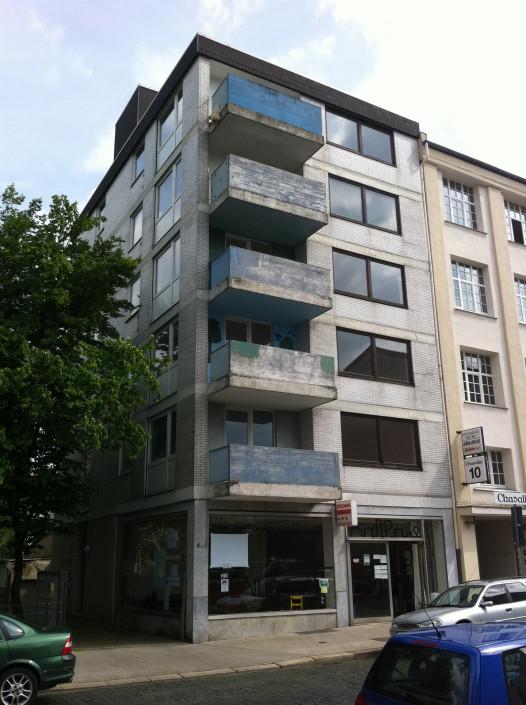 Sickingenstrasse Sanierung Studentenwohnheim vorher