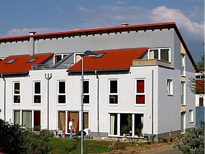 7 Reihenhäuser (3.BA) Steinstuecker Weg Harleshausen