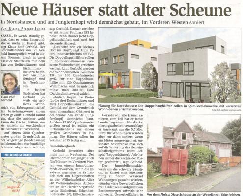 2014-06-27_HNA_Neue Häuser statt alter Scheune